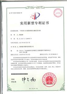 驰宇微专利证书