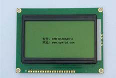 3.2寸CYW-B12864H-3中文字库液晶屏